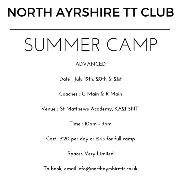 NORTH AYRSHIRE TT CLUB